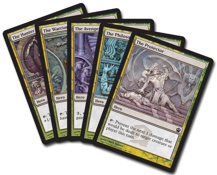 Theros Hero Cards